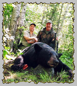 bear hunts, canada bear hunting guides, bear hunting outfitters, quebec bear hunting guide services